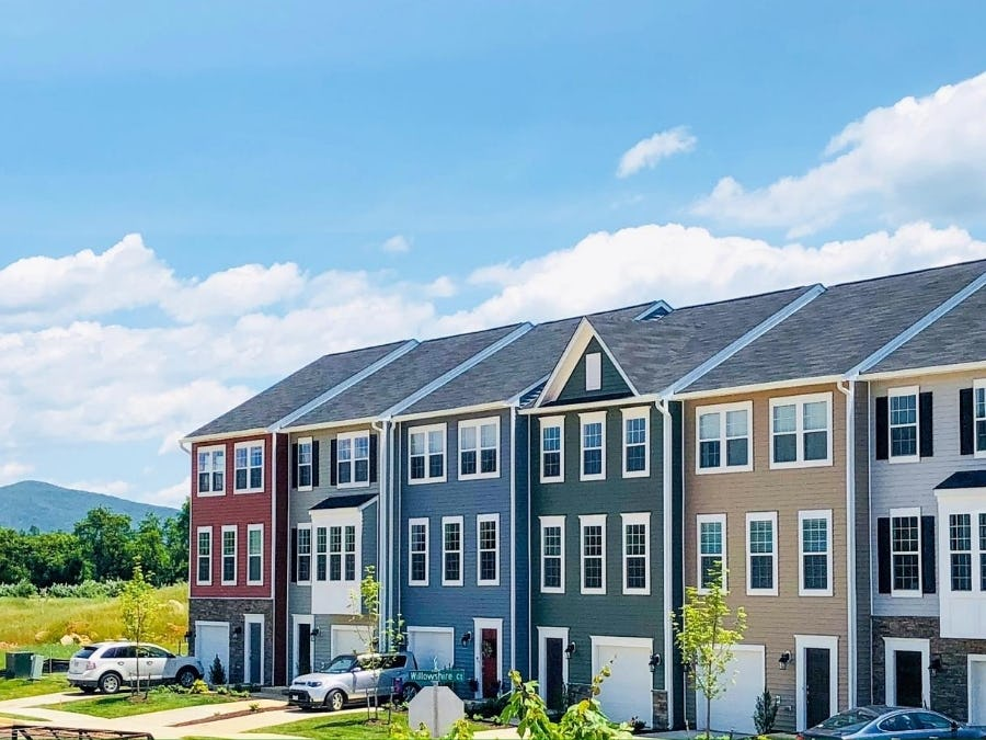 The Devon Townhomes at Evershire