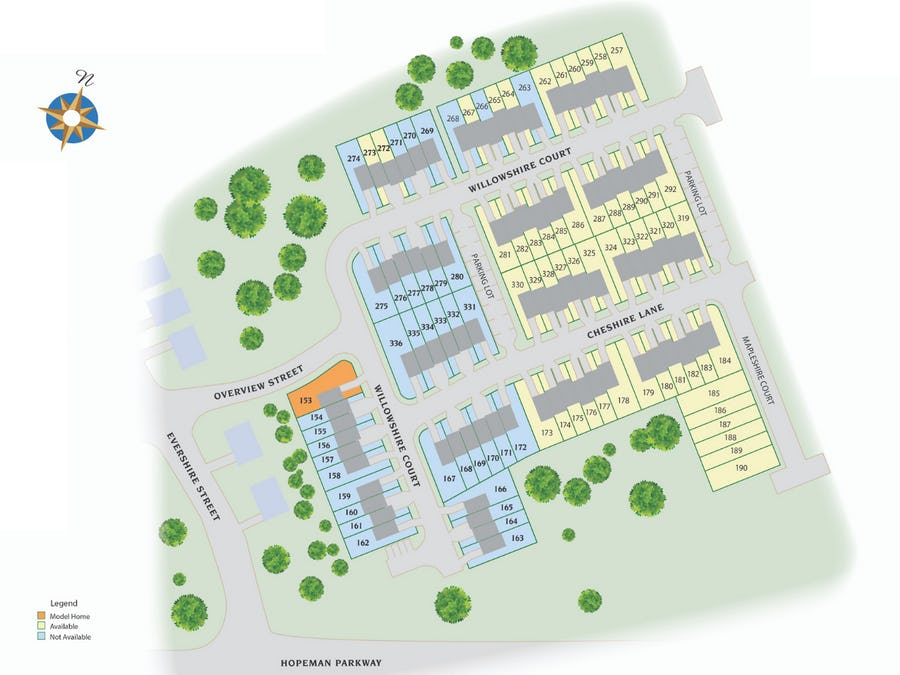 Townhomes at Evershire